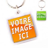 Porte-clés personnalisables recto verso