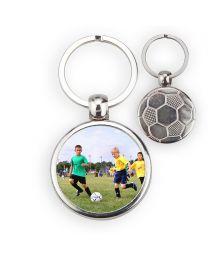 Porte-clé ballon de foot dos