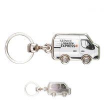 Porte clés photo métal camionnette - off