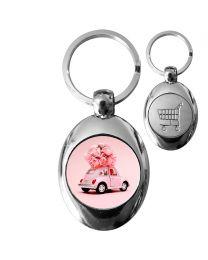 Porte-clé photo personnalisé avec Jeton - off