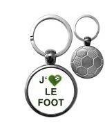 Porte-clé ballon de foot personnalisé