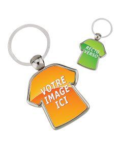 Porte clés métal personnalisé T-Shirt