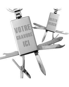 Porte-clés personnalisé couteau suisse
