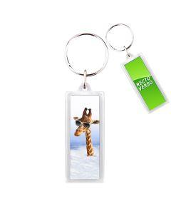Porte-clés personnalisé cristal panorama - off