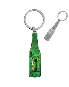 porte clés photo décapsuleur bouteille personnalisé - off