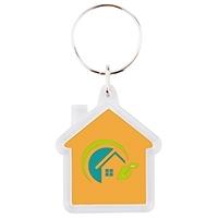 Porte-clés Cristal Maison