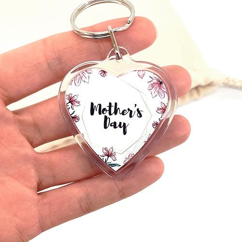 porte-clés personnalisé photo cadeau maman