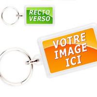 Porte-clés personnalisés en plastique