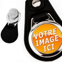 Porte-clés personnalisés avec jeton de caddie