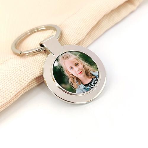 Porte-clés personnalisé photo